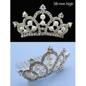 NEW PRINCESS HALLOWEEN COSTUME Crystal Crown Tiara H66