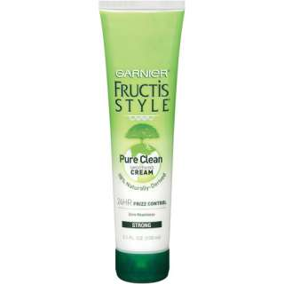 Garnier Fructis Style Pure Clean Smoothing Cream, 5.1 oz