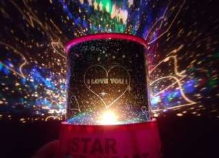 Love Cupid Romantic LED Light Projector Mini Sky Constellation Star