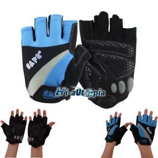 NEW Sn Bike Bicycle Full Finger Gloves 3 Color L XL M