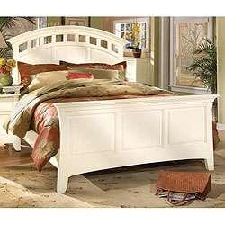 White Whitaker King size Bed