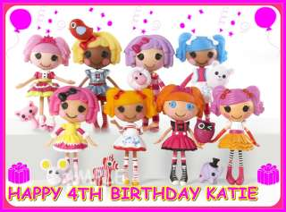 Lalaloopsy FROSTING SHEET EDIBLE CAKE TOPPER IMAGE DECORATIONS |