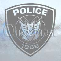 TRANSFORMERS Decal DECEPTICOP DECEPTICONS Car Sticker