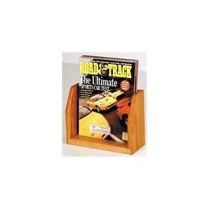 Wooden Mallet Countertop Magazine Display with 1 Pocket