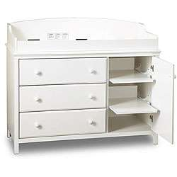 Pure White Changing Table