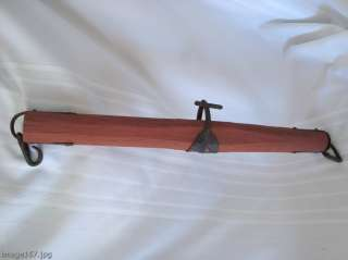 PRIMITIVE FARM IMPLEMENT SINGLE TREE YOKE FOR HORSES