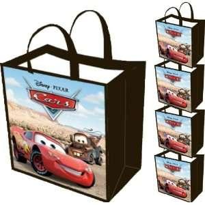 5 pack Disney Pixar Cars Reusable Tote Bag