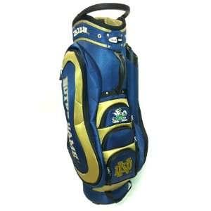 Fighting Irish Medalist Golf Cart Bag By Team Golf