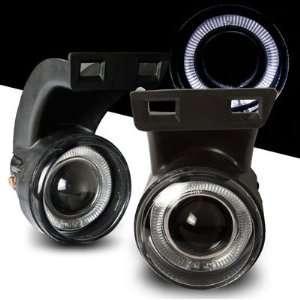 94 01 Dodge Ram Halo Projector Fog Lights Kit Automotive