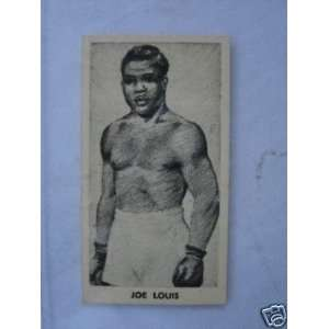 Card *knock out Razor Blades* #30   Boxing Cards