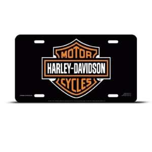 Harley Davidson Metal Novelty Car Auto License Plate Wall