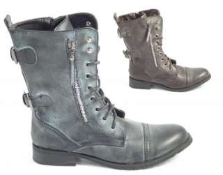 LADIES WOMENS BNIB ZIP DETAIL ARMY MILITARY COMBAT WORK ANKLE BOOTS