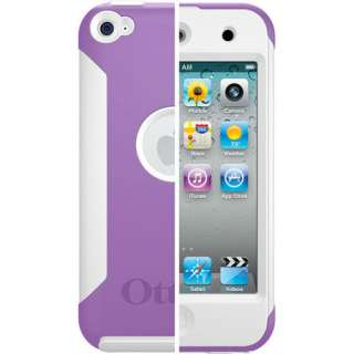 Commuter Case for Apple iPod Touch 4 4th Gen Purple/White