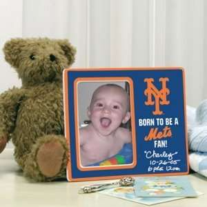 New York Mets MLB Born To Be Ceramic Frame Sports