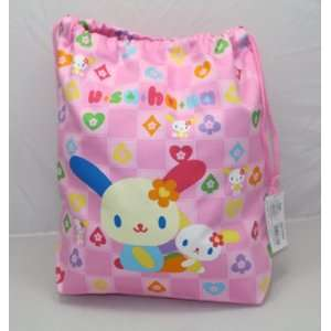 Pretty Sanrio U SA HA NA Bag with Drawstrings, 13H