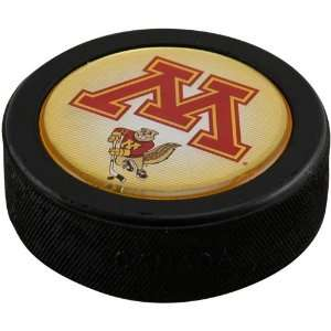 Minnesota Golden Gophers Domed Hockey Puck: Sports & Outdoors