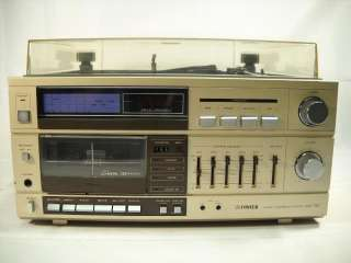Vintage Fisher Am Fm Stereo Cassette Tape Deck Record Player Model