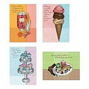 Sweet Celebrations Birthday Cards [With 12 Envelopes