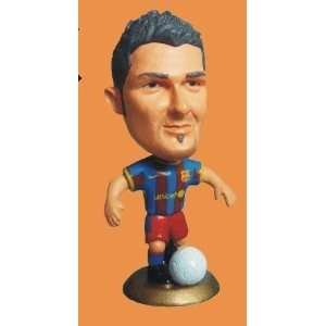 football doll barcelona. villa action figure super soccer football