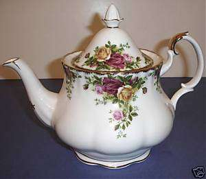 Royal Albert Old Country Roses Teapot Tea Pot Large New