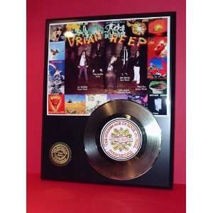 Gold Record Outlet Uriah Heep 24KT Gold Record Display LTD