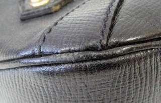 AUTHENTIC GUCCI BLACK LEATHER PURSE+/DUST BAG NR