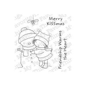 My Favorite Things Clear Stamps 3x4 pc merry Kissmas 2Pk