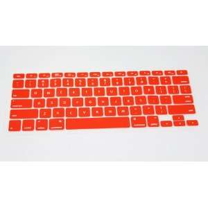 com Red Silicone Keyboard Cover Skin Protect for Apple Macbook Laptop