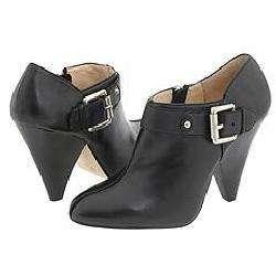 MICHAEL Michael Kors Annabel Bootie Black Leather Boots