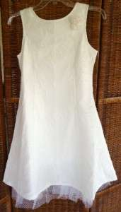Girls Plus White Special Occasion First Communion DRESS