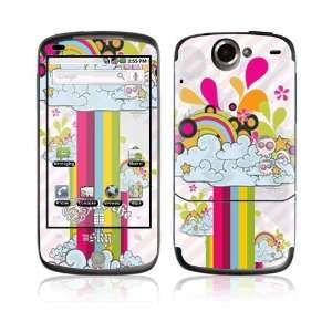 Rainbow In The Sky Decorative Skin Cover Decal Sticker for HTC Google