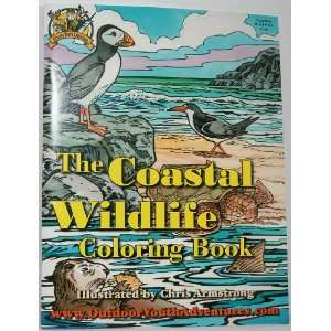 Youth Adventures THE COASTAL WILDLIFE Coloring Book Toys & Games