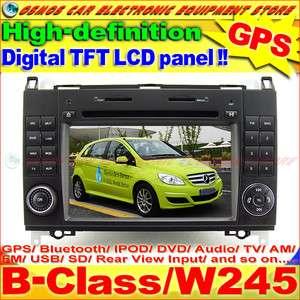 MERCEDES BENZ B Class/W245 B150/B170/B180/B200 HD Screen GPS Navi Car