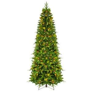 GKI Bethlehem Lighting 7.5 Foot Green River Spruce Slim Christmas Tree