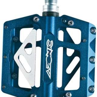 420 Flat Platform Pedals Mountain BMX Bike Blue 842346081967