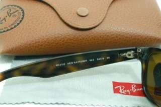 NEW RAY BAN TORTOISE BROWN WAYFARER SUNGLASSES RB2132 944 52 18 3N