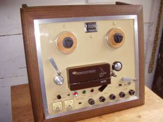 60`s Vintage Teac Reel To Reel Tape Machine