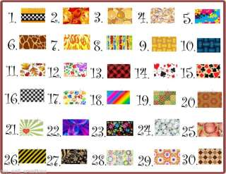 FRENCH TIP NAIL ART DECALS #4 •PICK YOUR DESIGN•