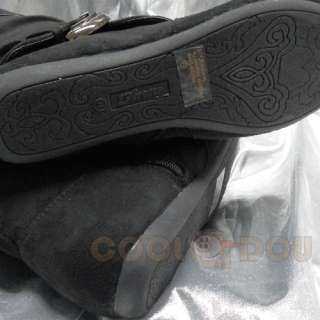 Fashion Casual Black Flats Boots Shoes NEW All Size KLEIN 85 BLACK
