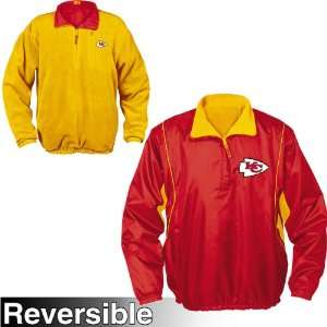 NFL Kansas City Chiefs Field Idol Reversible Fleece Jacket