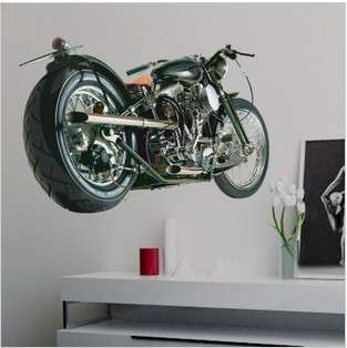 Motorcycles Art Deco Vinyl Wall Paper Sticker Decal 282