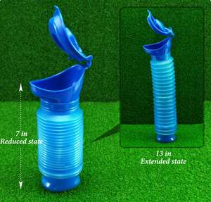 Portable Travel Urinal Toilet For baby and adult 750ml