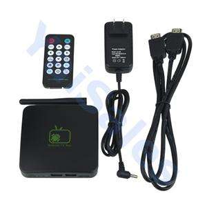 Android 2.3 Internet TV Box WIFI Media Player 1080P A9 NEW