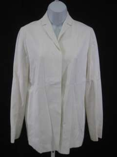 CALVIN KLEIN White Pencil Skirt Suit Outfit Size 6/10