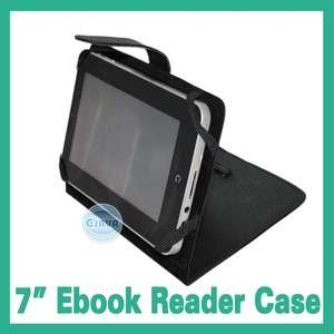 Leather Case Protector Jacket For 7 Ebook Reader Tablet PC MID