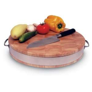 15 Round Cutting Board: Kitchen & Dining