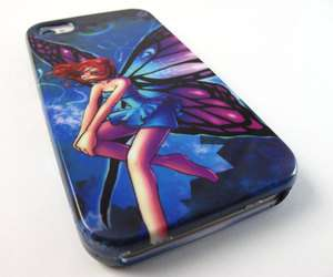 FAIRY DESIGN HARD SNAP ON CASE COVER APPLE IPHONE 4 4s PHONE ACCESSORY