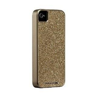 Case Mate Hot Pink Glitter Coated Glam Case for iPhone 4