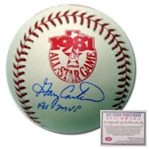 Gary Carter New York Mets Hand Signed Rawlings MLB