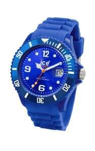 Ice Watch Mens SI.BE.B.S.09 Sili Collection Blue Plastic